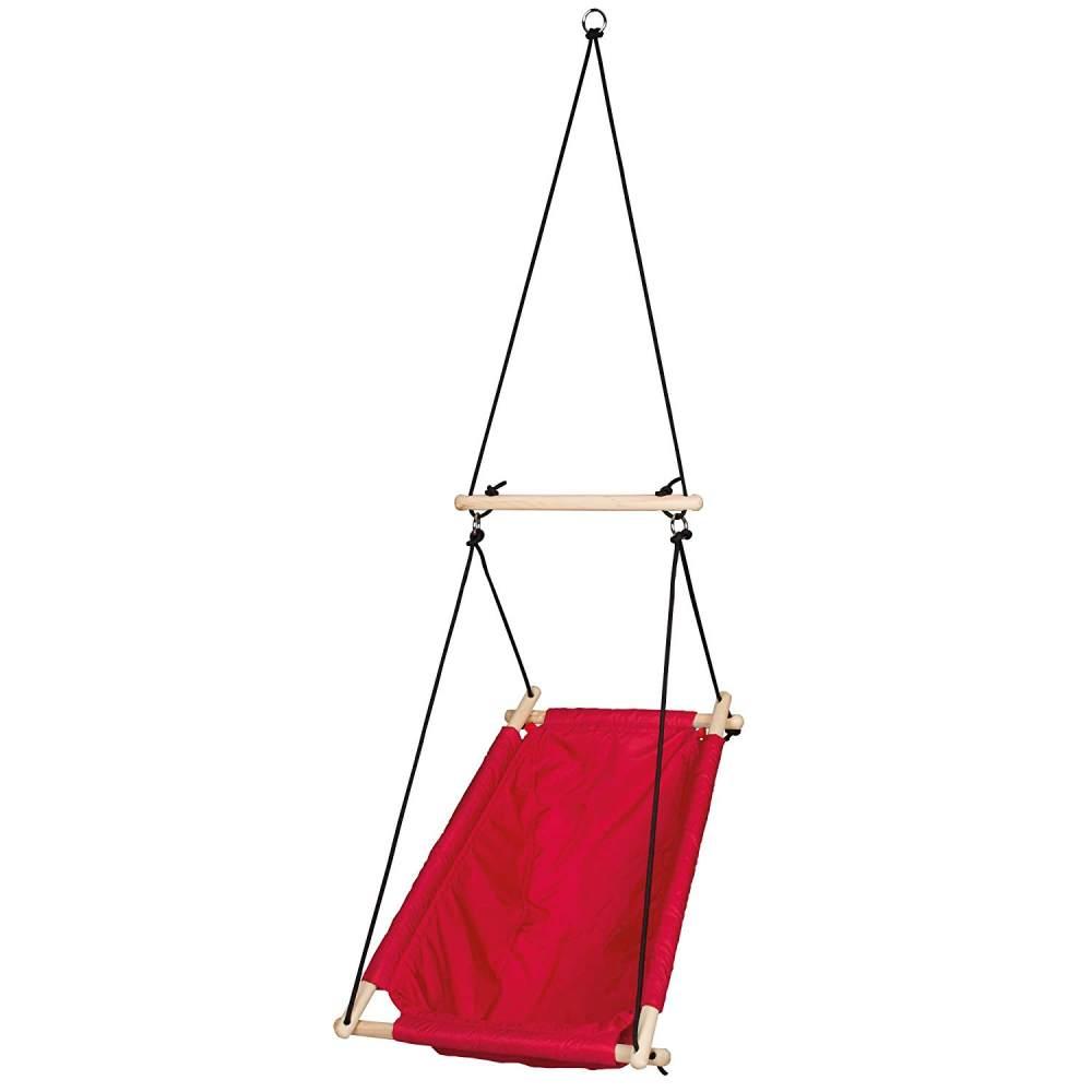 Roba Hängesitz, rot, Indoor und Outdoor geeignet Bild 1
