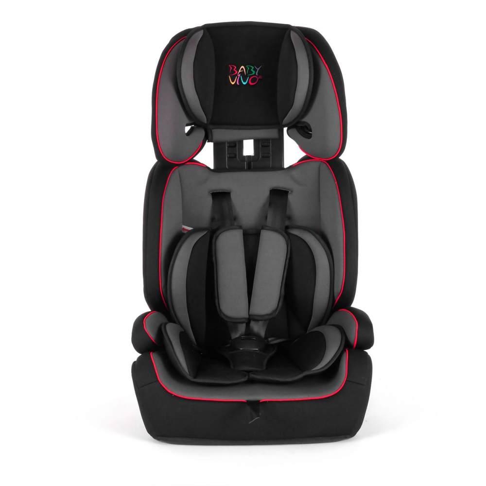 Baby Vivo 'TOM' Autokindersitz von 9-36 kg für Gruppe 1+2+3 in Grau/Schwarz Bild 1