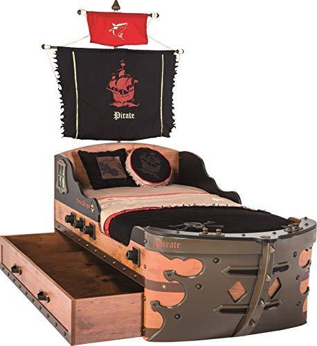 Cilek 'Pirate' Kinderbett 90x190 mit Schublade Bild 1