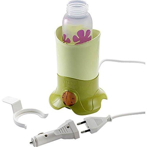 Beaba 'BibBain-Maria' Flaschenwärmer Grün, inkl. Zigarettenanzünder-Adapter und eine Gläschenzange Bild 1