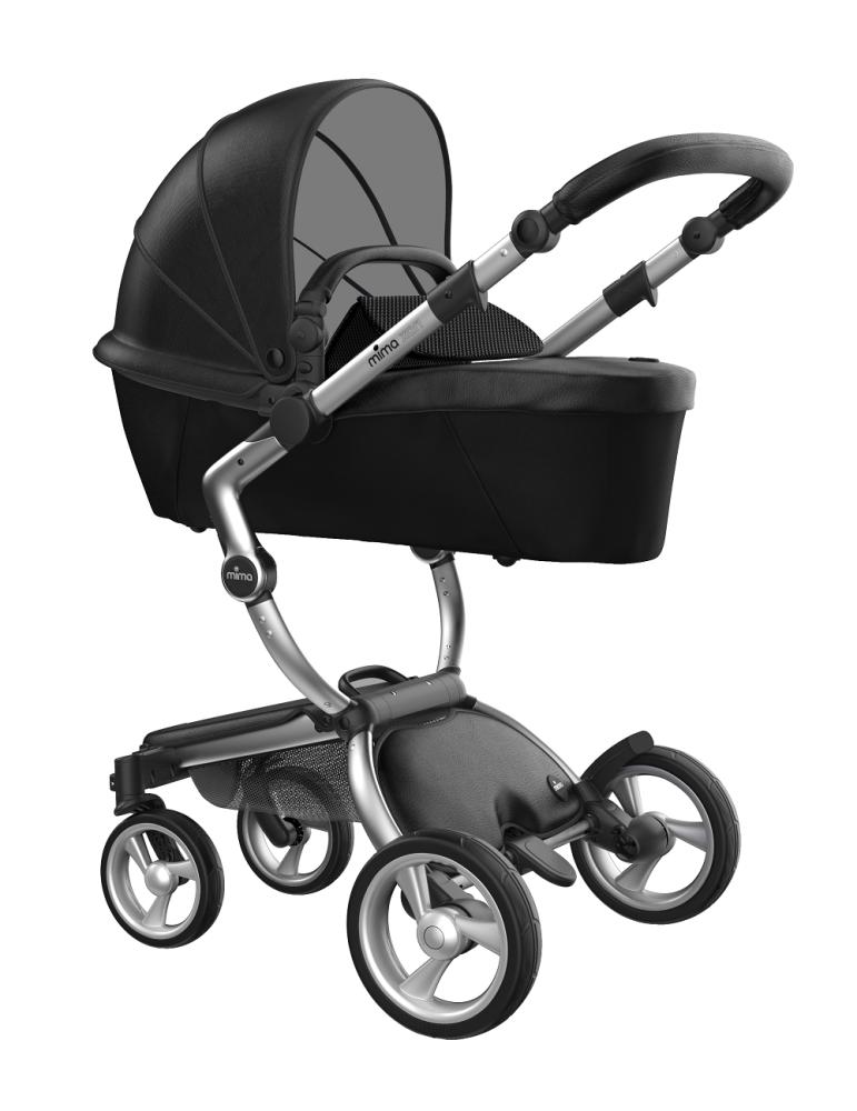 Mima Xari Design Kinderwagen Kollektion 2021 Aluminium Schwarz Bild 1