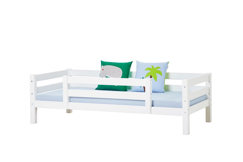 Hoppekids 'Premium' Einzelbett inkl. Absturzschutz und Rahmenlattenrost, 90 x 200 cm Bild 1
