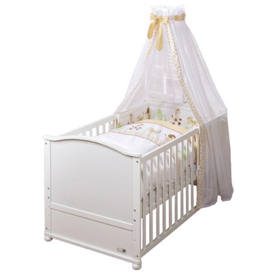 Roba 'Lukas' Kombi-Kinderbett weiß, inkl. Ausstattung 'Safari' Bild 1