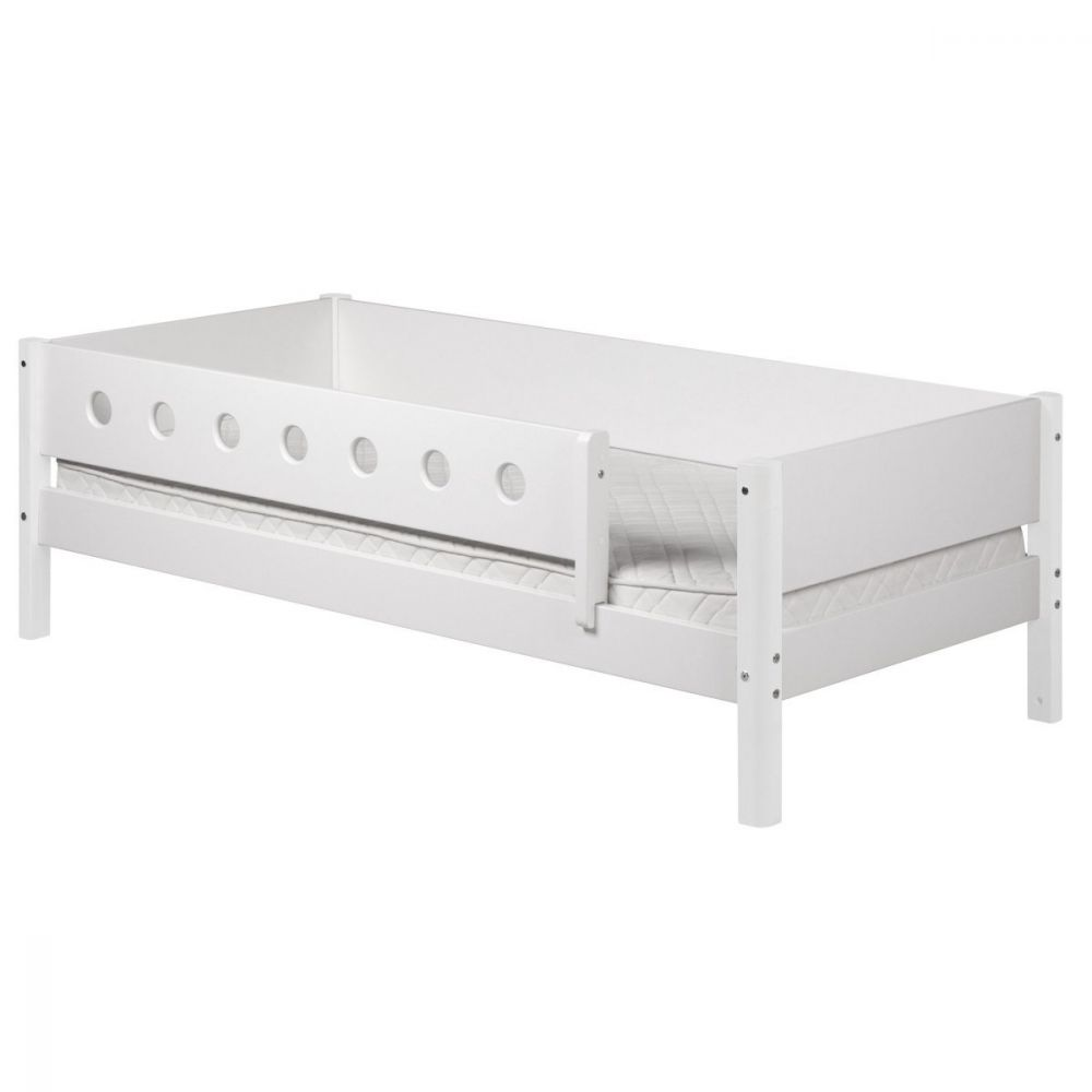 Flexa 'White' Einzelbett weiß, 90x190 cm Bild 1