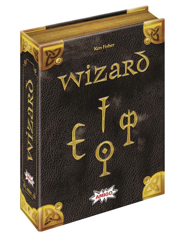 Amigo 'Wizard 25 Jahre-Edition' Kartenspiel, ab 10 Jahren, 3-6 Spieler, Jubiläumsausgabe des Spieleklassikers Bild 1