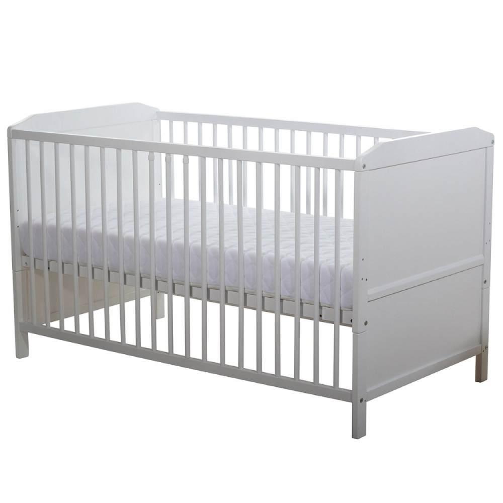 Baby Plus Kinderbett 'Abel' weiß Bild 1