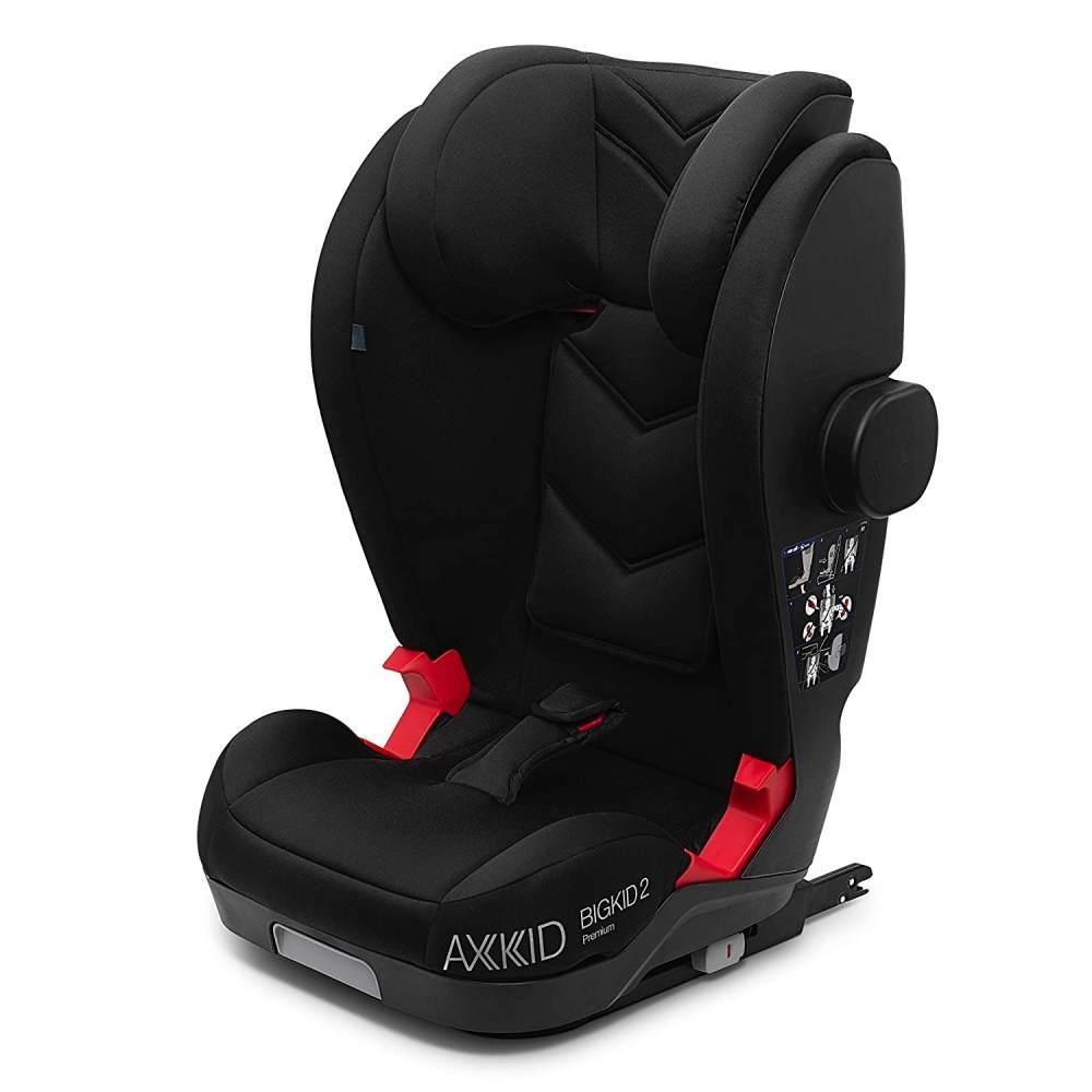 Axkid Autositz Bigkid 2 Premium Schwarz Bild 1