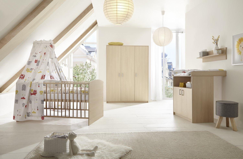 Schardt 'Classic Buche' 3-tlg. Babyzimmer-Set Schrank 3-türig Bild 1
