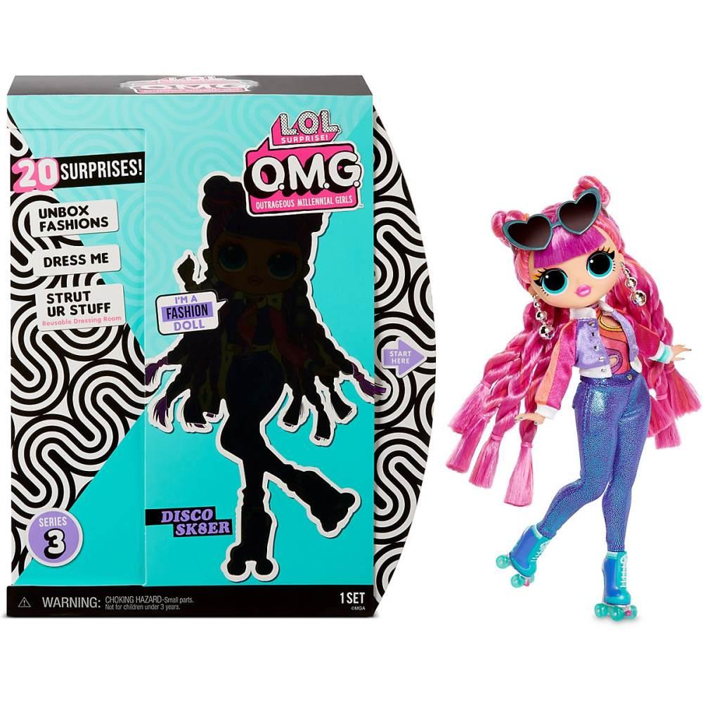 MGA Entertainment L.O.L. Surprise OMG Doll Series 3- Disco Sk8er - Spielfigur, Puppe Bild 1