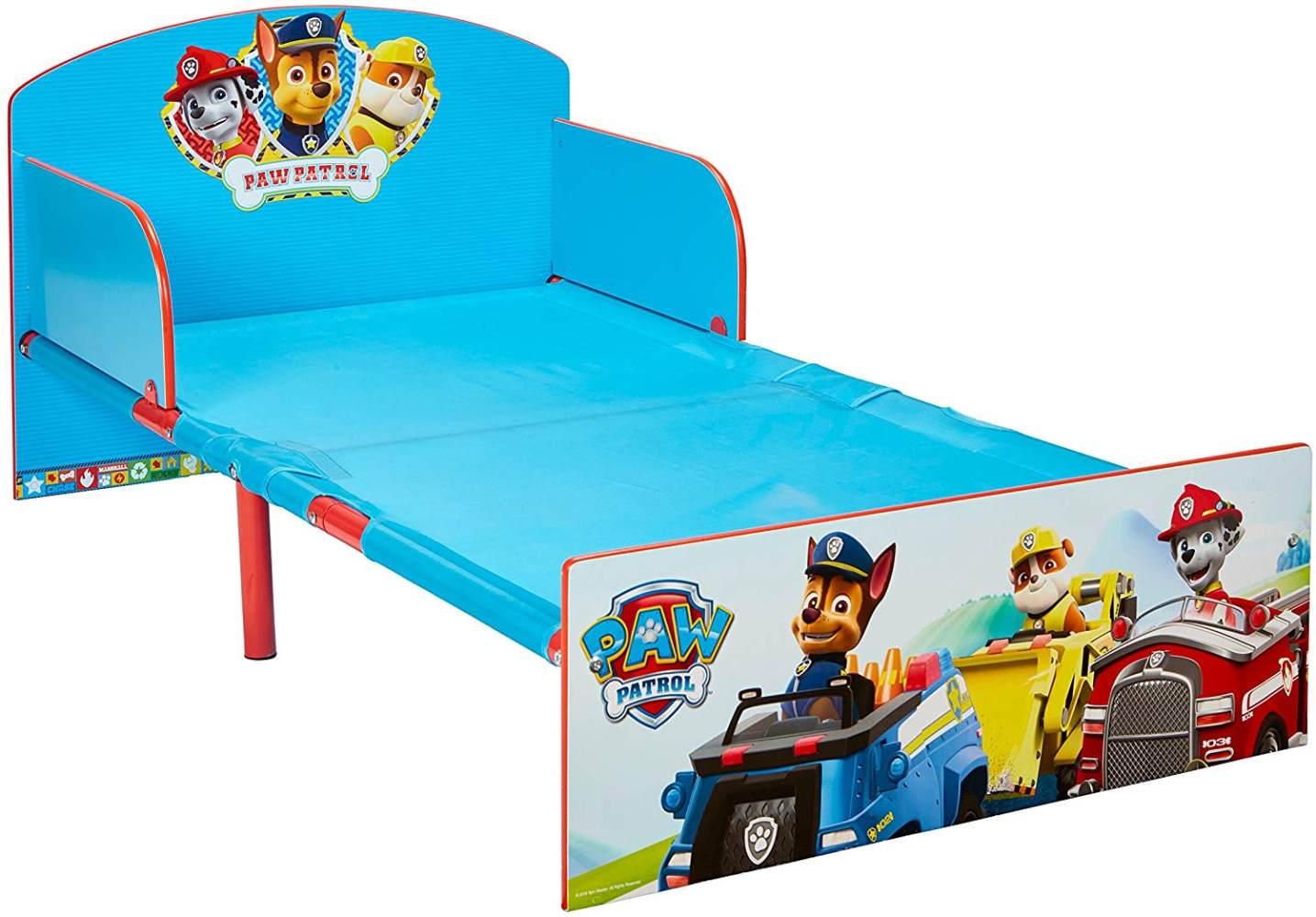 PAW PATROL Bett für Kleinkinder 70x140 Bild 1