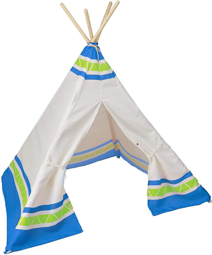 Hape Indianer-Tipi blau Bild 1