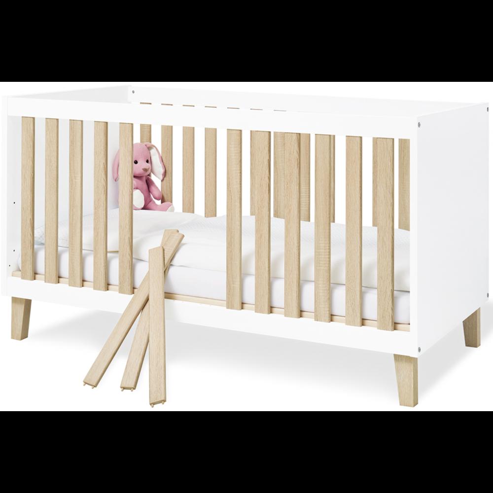 Pinolino 'Lumi' Babybett 70x140 cm Bild 1