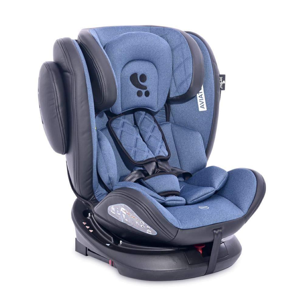 Lorelli Kindersitz Aviator SPS Isofix Gruppe 0+/1/2/3 (0 - 36 kg) 0 - 12 Jahre hellblau Bild 1