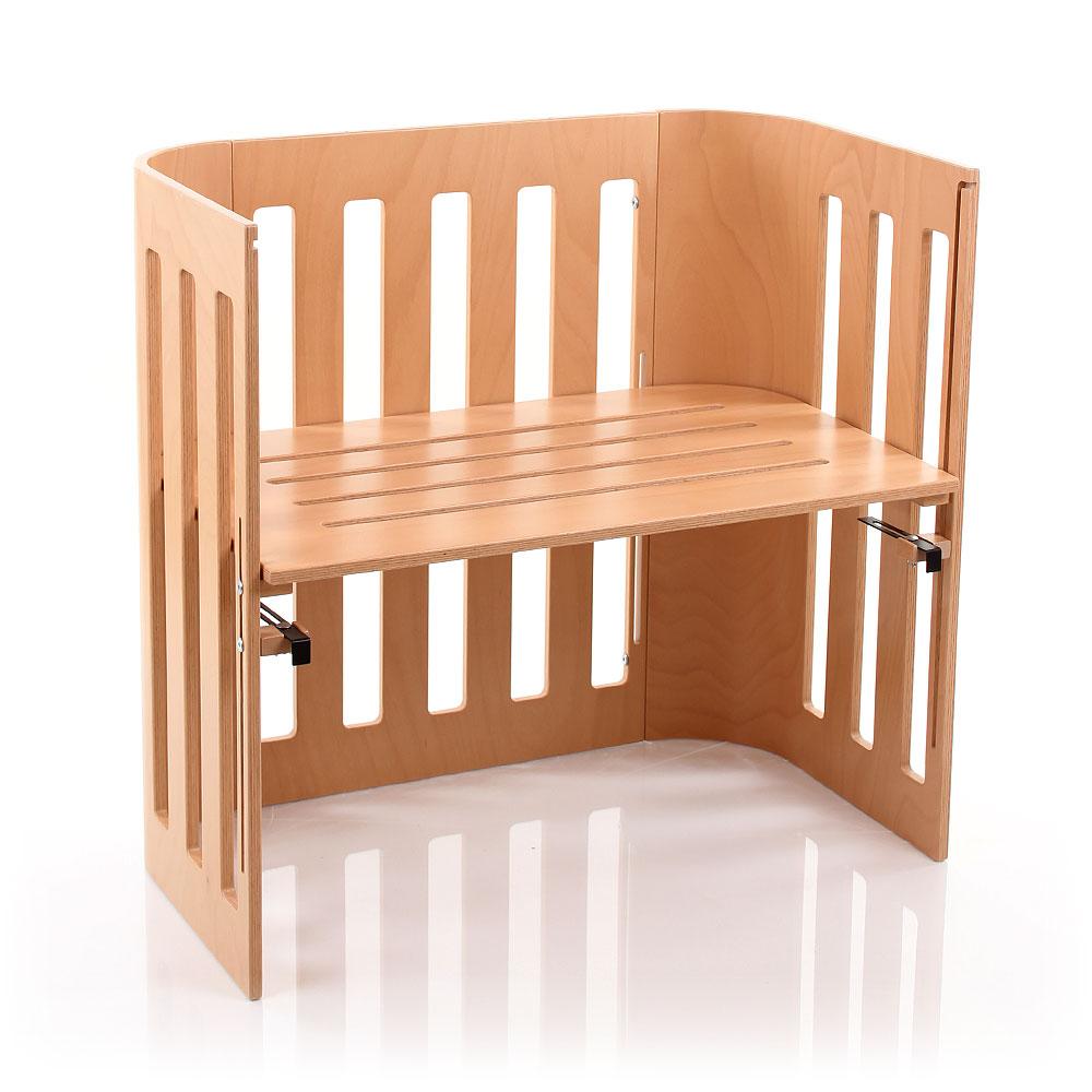 Babybay 'Trend' Beistellbett klarlackiert Bild 1