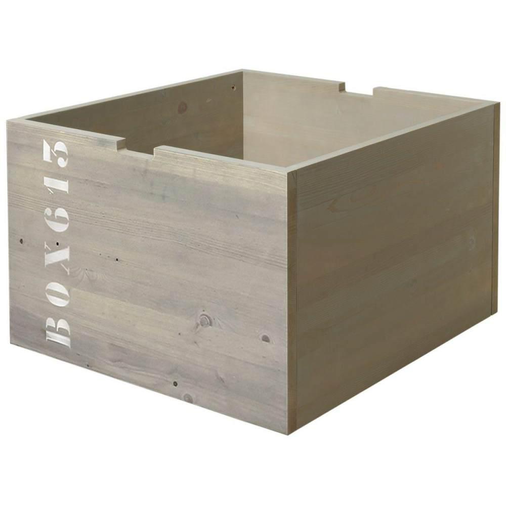 Bopita Basic Wood Spielzeugkiste für kompaktbett Bild 1