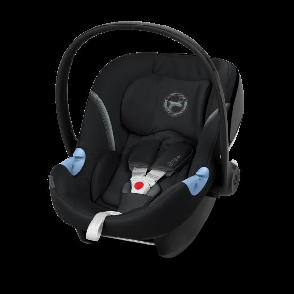 CYBEX 'Aton M' Babyschale 2020 Deep Black von 0 bis 13 kg (Gruppe 0+) Isofix Bild 1