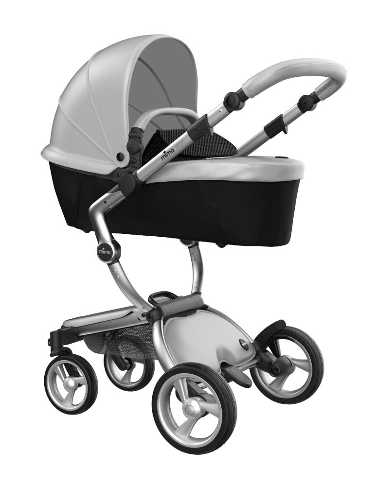 Mima Xari Design Kinderwagen Kollektion 2021 Aluminium Argento Bild 1