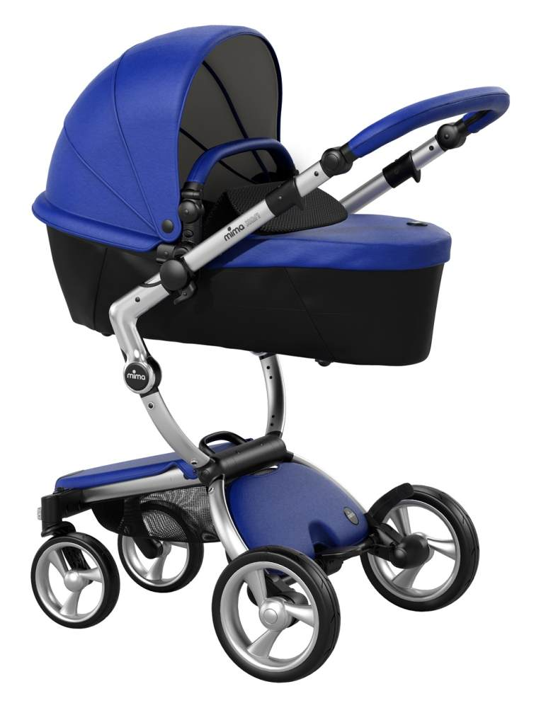 Mima Xari Design Kinderwagen Kollektion 2021 Aluminium Royal Blue Bild 1