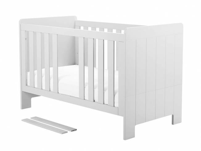 Pinio 'Calmo' Kombi-Kinderbett weiß, inkl. Umbauseiten Bild 1