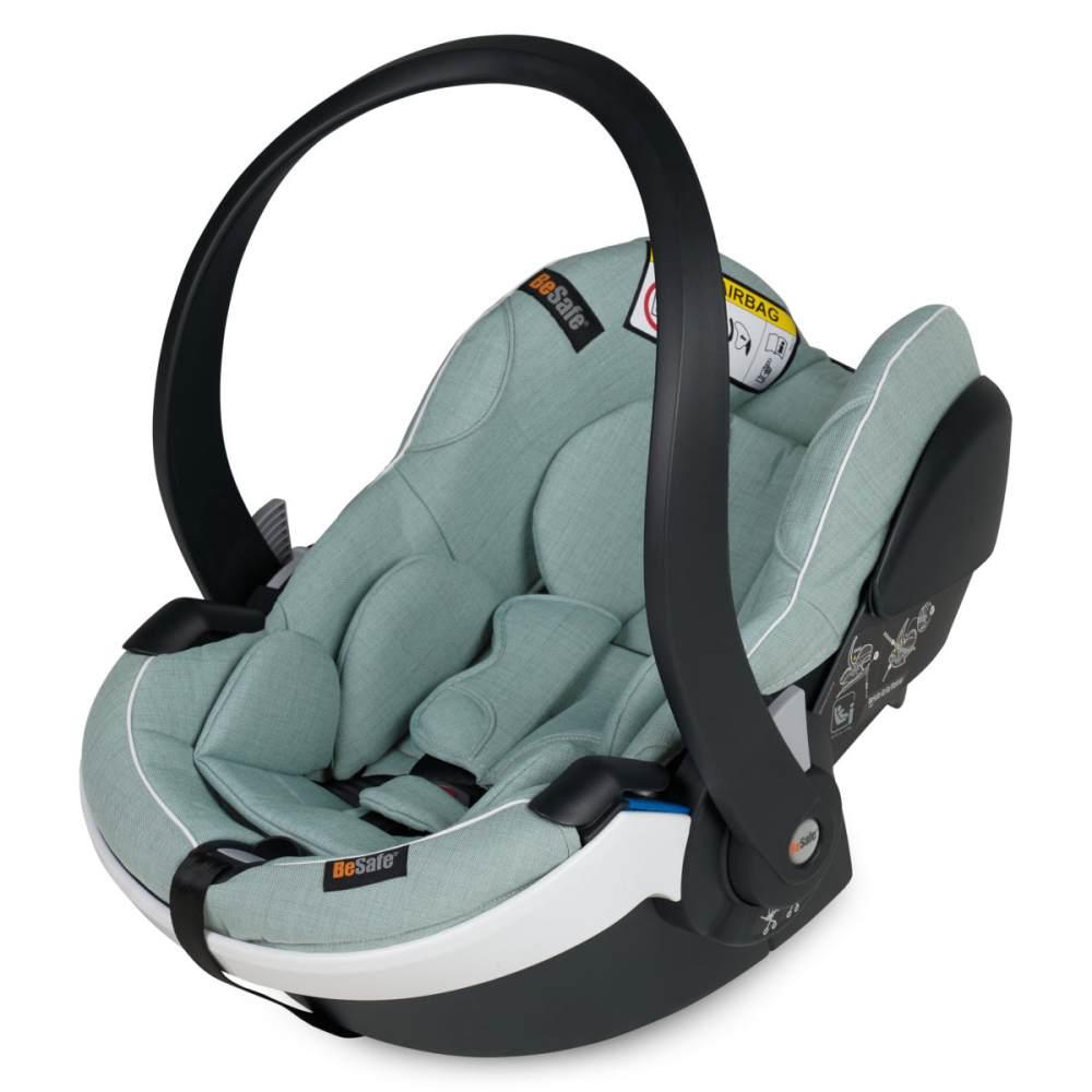 BeSafe Babyschale iZi Go Modular X1 -Size Sea Green Mélange Bild 1