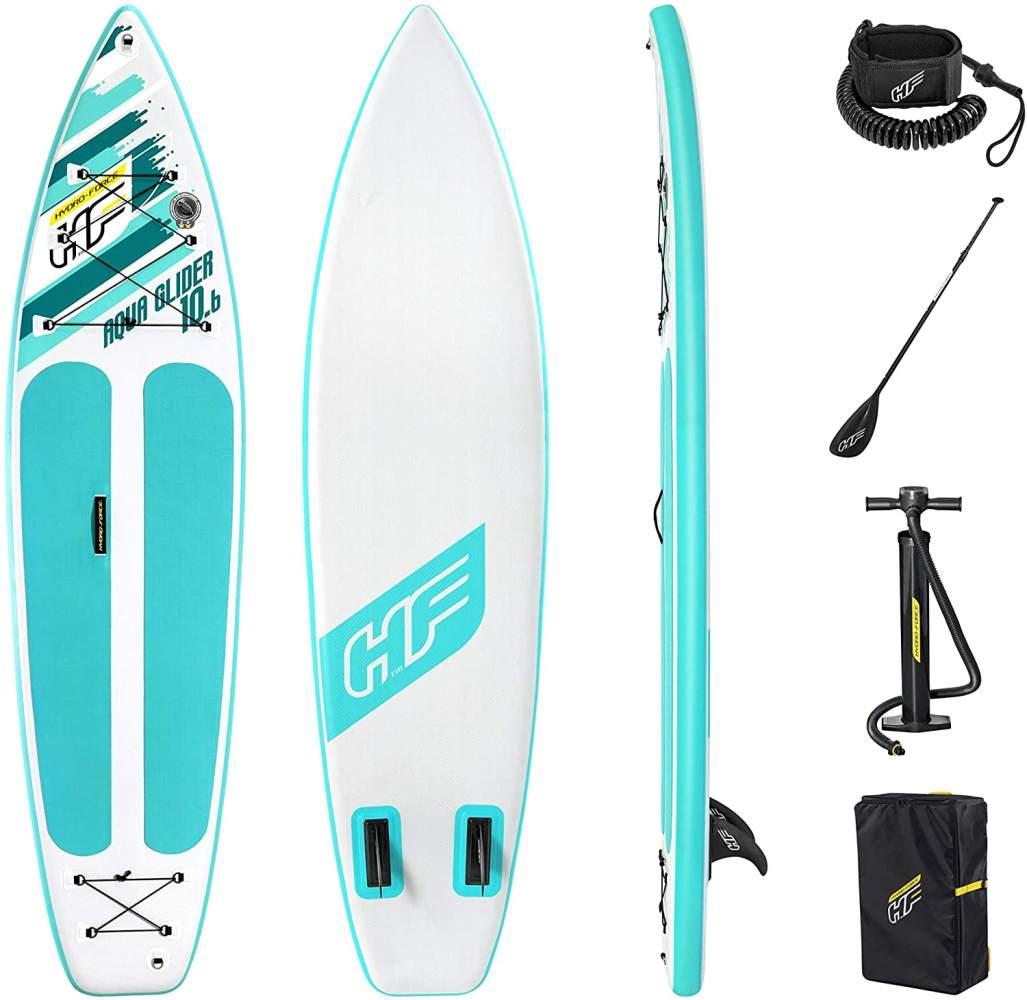 Bestway 'SUP Touring Board-Set, Aqua Glider', 322 x 79 x 12 cm, max. belastbar bis 110 kg, mit Paddel Bild 1