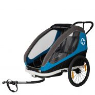 Hamax 'Traveller 2' Fahrradanhänger Blau, 2-Sitzer