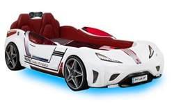 Cilek 'GTI' Autobett mit Matratze und Music Player