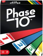 Mattel Games 'Phase 10' Kartenspiel, ab 7 Jahren, 2 - 6 Spieler, ca. 45 min Spielzeit