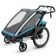 Thule 'Chariot Sport 2' Fahrradanhänger 2020 blau, 2-Sitzer