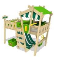Wickey 'Crazy Hutty' Hochbett grün/apfelgrün 90x200 cm