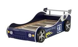 Autobett 'Energy Blue Speed' blau mit LED-Beleuchtung
