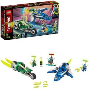 LEGO NINJAGO 71709 'Jay und Lloyds Power-Flitzer', 322 Teile, ab 7 Jahren