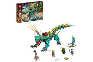 LEGO® Ninjago 71746 'Dschungeldrache', 506 Teile, ab 8 Jahren