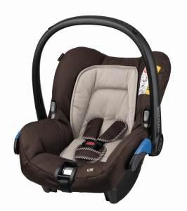 Maxi-Cosi 'Citi' Babyschale 2020 Earth Brown, 0 bis 13 kg (Gruppe 0+)