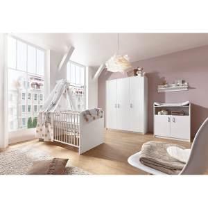 Schardt 'Classic White' 2-tlg. Babyzimmer-Set