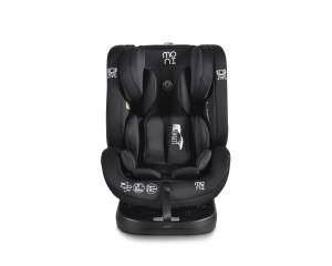Moni Kindersitz Serengeti 0-36 kg Gruppe 0/1/2/3 Isofix drehbar 165° Neigung schwarz