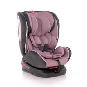 Lorelli 'Nebula' Kindersitz Gruppe 0+/1/2/3 (0-36 kg) Isofix, verstellbar, drehbar rosa