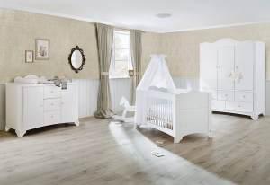 Pinolino 3-tlg. Kinderzimmer Pino extrabreit groß mit 3 Türen
