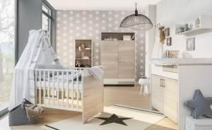 Schardt 'Clou Oak' 2-tlg. Babyzimmer-Set