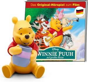 Tonies Disney 'Winnie Puuh auf großer Reise', Hörfigur mit ca. 46 Minuten Spielzeit, ab 3 Jahren