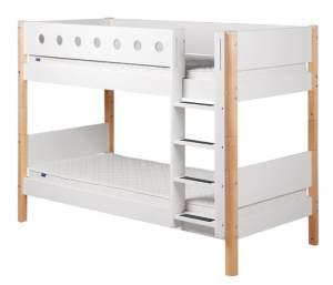 Flexa 'White' Etagenbett weiß/natur, 90x190 cm