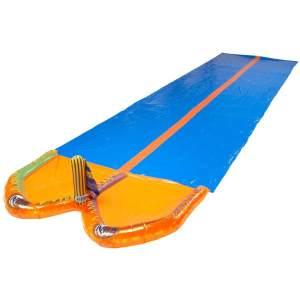 Happy People 77825 'Wasserrutsche DUO', ca. 650 x 185 cm, ab 3 Jahren, orange