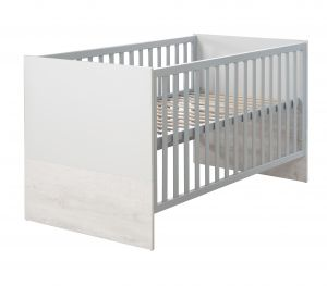 Roba 'Maren 2' Kombi-Kinderbett, 70x140cm weiß/lichtgrau