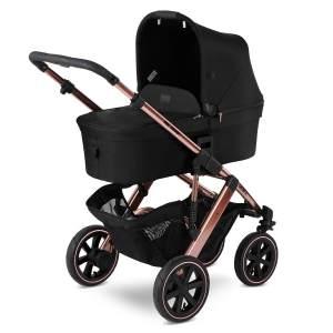 ABC Design 'Salsa 4 Air' Kombikinderwagen 3in1 Set S rose gold -inkl. Babyschale soho grey und Adapter