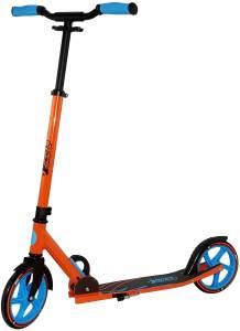 Best Sporting Scooter 205er Rolle, aus Aluminium, klappbarer Kinder-Tretroller orange/blau
