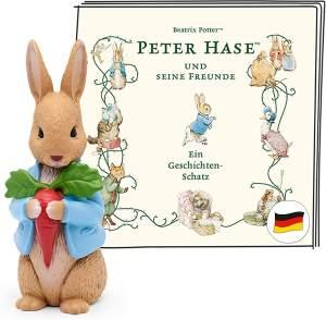 Tonies Peter Hase und seine Freunde 'Ein Geschichten-Schatz', Hörfigur mit ca. 65 Minuten Spielzeit, ab 3 Jahren