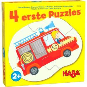HABA 4 erste Puzzles # Einsatzfahrzeuge