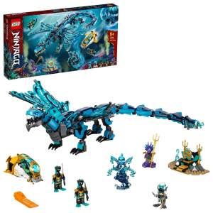 LEGO NINJAGO 71754 'Wasserdrache', 737 Teile, ab 9 Jahren