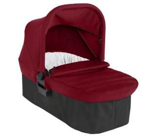 Baby Jogger Faltbare Babywanne für Die Einzelkinderwagen City Mini 2 & City Mini GT2, 0-6Monate (9kg), Ember (schwarz/rot)