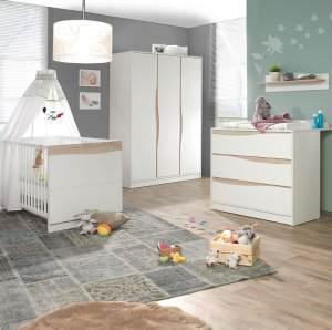 Geuther Kinderzimmer Set Wave 3tlg - natur